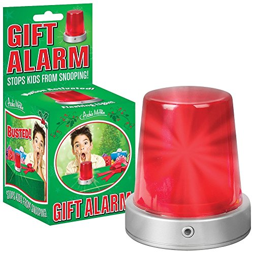 Motion Activated Gift Alarm With Lights And Siren - Stops Kids From Snooping front-605878