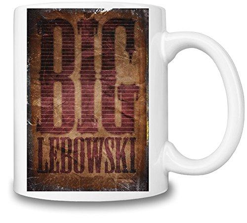 The Big Lebowski Poster Tazza Coffee Mug Ceramic Coffee Tea Beverage Kitchen Mugs By Slick Stuff