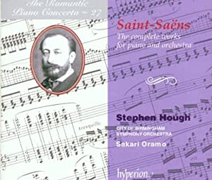Saint-Saëns: The Complete Works for Piano and Orchestra by Hyperion
