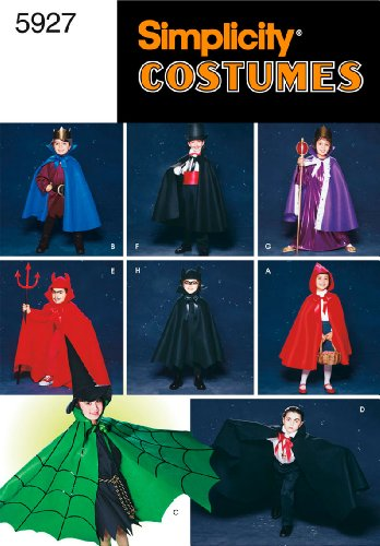 Simplicity Sewing Pattern 5927 Child Costumes