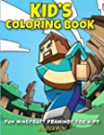 Kid's Coloring Book: Fun Minecraft Dr...
