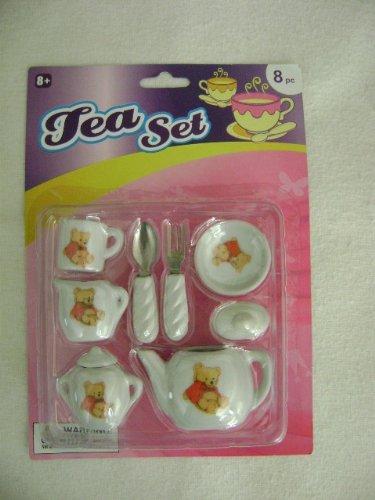 Tea Time Mini Porcelain Tea Set - 1