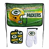 NFL Green Bay Packers Premium Barbeque Tailgate Set at Amazon.com