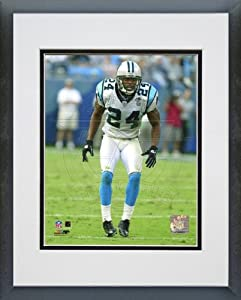 Ricky Manning Jr. Carolina Panthers - NFL Framed and Matted Photo - 2004-05 Action - 20x24 Photo
