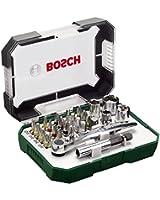 Bosch 2607017322 Coffret embouts et douilles 26pièces