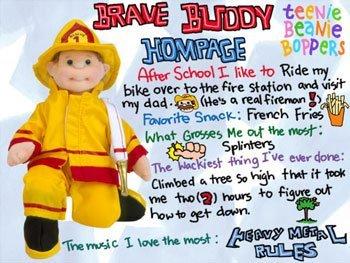 TY Teenie Beanie Bopper - BRAVE BUDDY