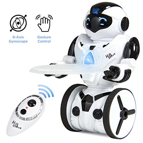 Best Choice Products 2.4GHz Remote Control 6-Axis Robot With 5 Modes, Music, Lights, Self Balancing, Motion Sensing