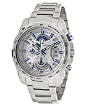 Casio Edifice Active Racing Chronograph White Dial Stainless Steel Mens Watch EFR523D-7AV