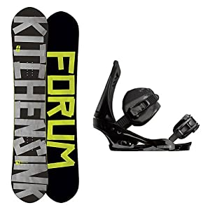 Buy Forum The Kitchen Sink Snowboard and Binding Package by Forum Novelties