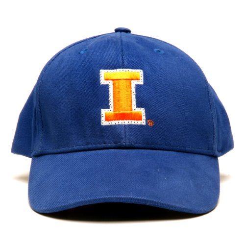 Ncaa Illinois Illini Led Light-Up Logo Adjustable Hat