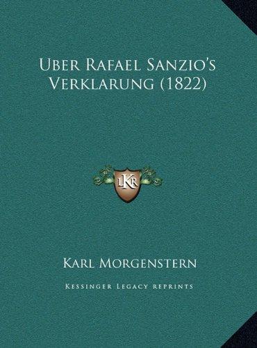 Uber Rafael Sanzio's Verklarung (1822)