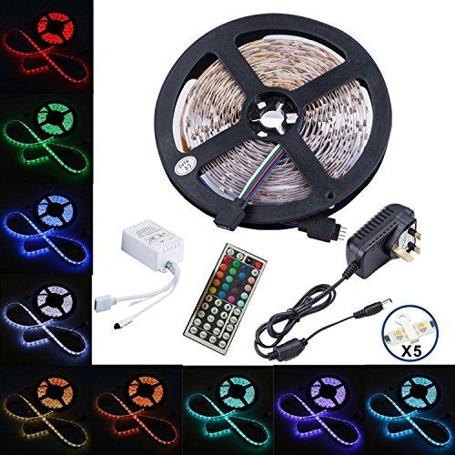 led-striptenlion-5050-led-strip-lightsrgb-led-strips-lighting-full-kit-44-key-ir-remote-12v-uk-charg