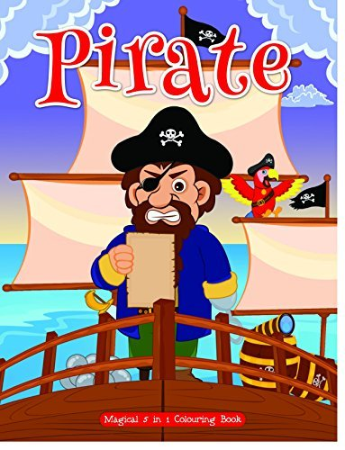ART Factory - Pirate (Magical 5 in 1 Colouring Book)