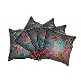 "JAIPURWALAS Handmade Traditional Cotton Cushion Cover Set Of 5 Pcs 16"" X !6"""