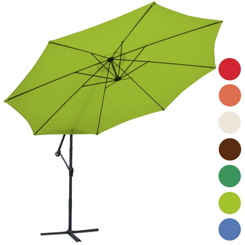 Ampelschirm Ø 350cm Sonnenschirm Sonnenschutz inkl. Ständer (Farbwahl) bestellen