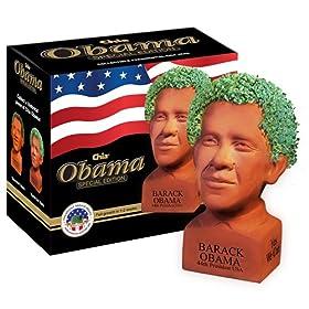 Chia Obama Handmade Decorative Planter