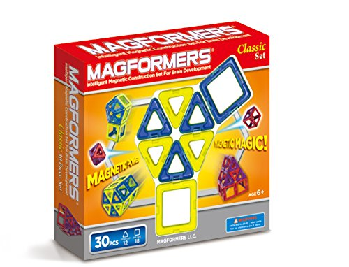 Magformers Classic Set colors may vary (30-pieces)