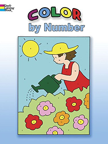 Color by Number (Dover Coloring Books) (Coloring By Numbers For Kids compare prices)