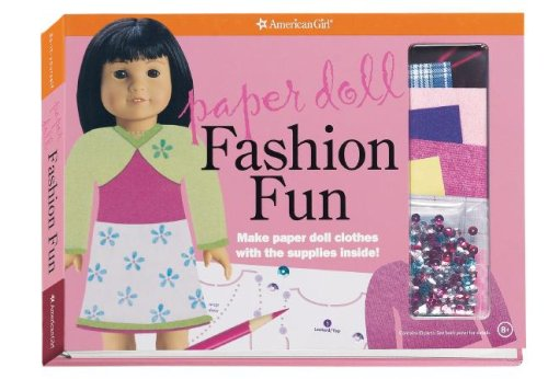 Paper Doll Fashion Fun: Designer Sketchbook (American Girl Library)
