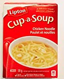 Knorr Lipton Cup-a-soup Chicken Noodle Instant Soup Mix 4 Count Pack of 6