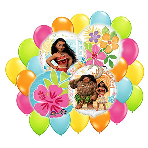 Disney Moana Balloons Bouquet Decoration Kit