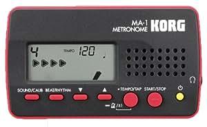 KORG メトロノーム MA-1 BKRD ブラック レッド