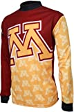 NCAA Boys' Minnesota Golden Gophers Long Sleeve Performance BMX Jersey, Multi, X-Large, 12-14