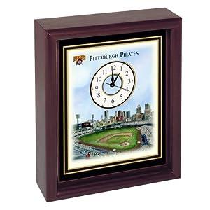Pittsburgh Pirates PNC Park Stadium Colorprint Desk Clock by Unknown