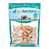 Premium Bully Stick Bites by Best Bully Sticks (2lb. Value Pack) - Sourced from All-Natural, Grass Fed, Free Range Beef - Hand-Inspected and USDA/FDA Approved
