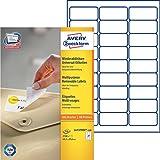 Avery Zweckform L4737REV-100 Universal-Etiketten  100 Blatt weiß