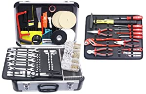 Famex UniversalWerkzeugkoffer mit Werkzeugbestückung 639 tlg.  BaumarktRezension