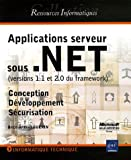 Applications serveur sous .NET : Versions 1.1 et 2.0 du framework