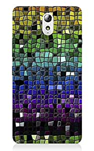 Back Cover for Lenovo Vibe P1M COLORFUL TILES