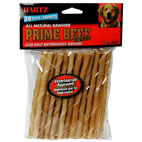 Hartz Rawhide Chew Sticks, Pack of 20