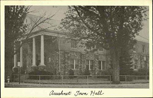 Acushnet Town Hall Vintage Postcard