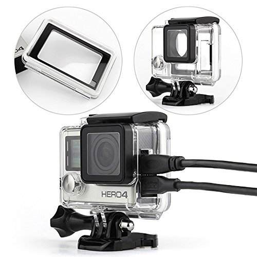 SOONSUN-Side-Open-Protective-Skeleton-Housing-Case-with-LCD-Touch-Backdoor-for-GoPro-Hero-4-Silver