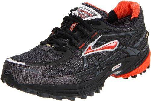 Brooks Men's Adrenaline Gtx M Red/Black/Silver Trainer 1101021D635 10.5 UK, 11.5 US