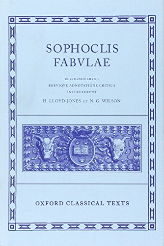 Sophocles Fabulae (Oxford Classical Texts)