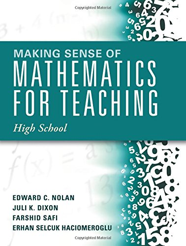 Making Sense of Mathematics for Teaching High School (Understanding How to Use Functions) (Making Sense Math compare prices)