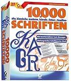 Software - 10.000 Schriften