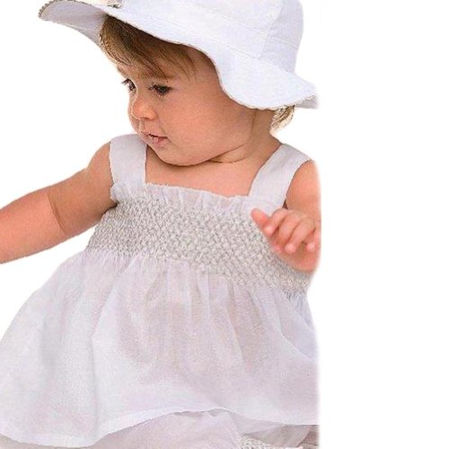 Urparcel Infant Ruffled T-shirt Tops Vest Shorts with Hat Cap Outfit Sets 0-3y