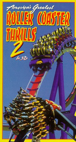 America's Greatest Rollercoaster Thrills 2 in 3D [VHS]