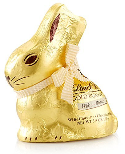 Lindt Gold Bunny 100g - White Chocolate