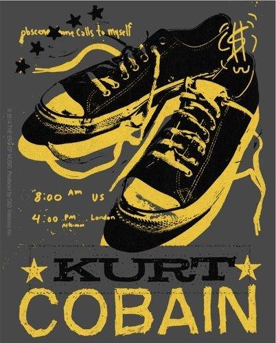 Licenses Products Kurt Cobain Tennis Shoes Sticker by Licenses Products