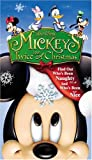 Mickeys Twice Upon a Christmas [VHS]