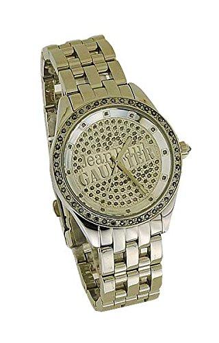 ¿Jean Paul Gaultier reloj de pulsera para mujer 8502801 rocambolesco de acero con piedras :{249},? 7862