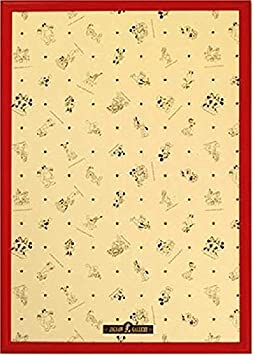 Disney Exclusive use panel 1000 Piece Wooden Red Micky Minnie Puzzle