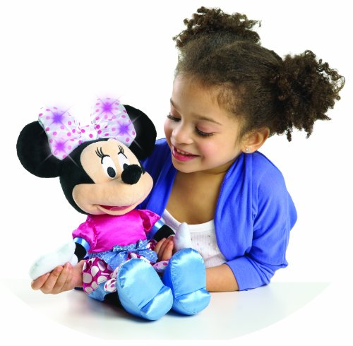 Minnie Bowtique Hold My Hand Singing Minnie Plush