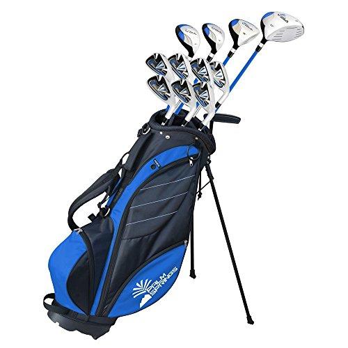 Palm-Springs-Golf-Visa-V2-Mens-Left-Hand-GraphiteSteel-Golf-Club-Set-with-Bag
