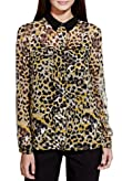 Limited Edition No Peep? Animal Print Blouse [T69-2707I-S]